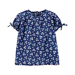OshKosh B'gosh® Keyhole Sleeve Daisy Toddler Top