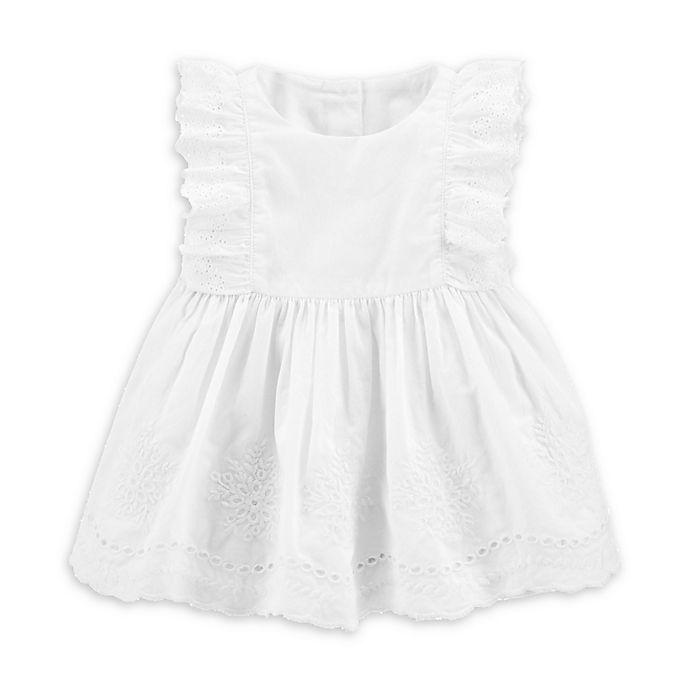 Alternate image 1 for OshKosh B'gosh® Eyelet Dress