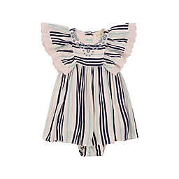 Jessica Simpson 2-Piece Embroidered Dress and Diaper Cover Set