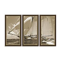 Yacht 3-Piece Wall Art
