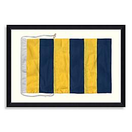 Framed Nautical Flag Shadow Box 5