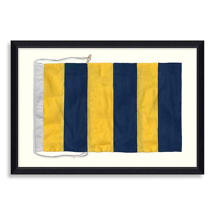 Alternate image 1 for Framed Nautical Flag Shadow Box 5