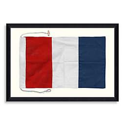 Framed Nautical Flag Shadow Box 6