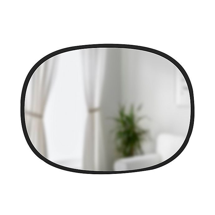 Alternate image 1 for Umbra® Hub 18-Inch x 24-Inch Oval Wall Mirror