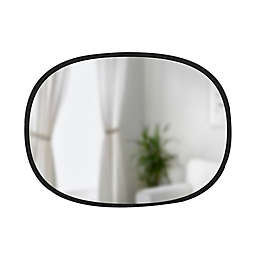 Umbra® Hub 18-Inch x 24-Inch Oval Wall Mirror
