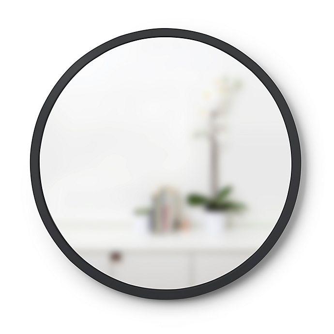 Alternate image 1 for Umbra® Hub 18-Inch Round Wall Mirror