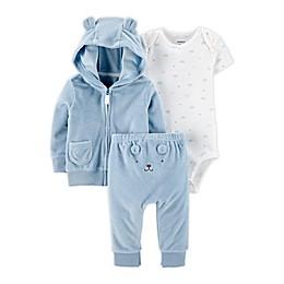 carter's® 3-Piece Bear Little Jacket, Bodysuit, and Pant Set