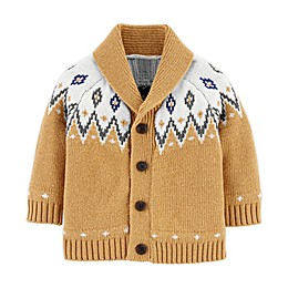 OshKosh B'gosh® Fair Isle Cardigan