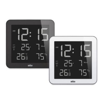 Braun 174 Digital Wall Desk Clock Bed Bath Amp Beyond
