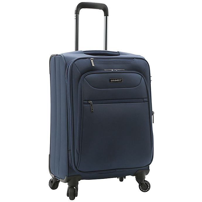 Alternate image 1 for Latitude 40°N® Ascent 2.0 20-Inch Spinner Carry On Luggage in Navy