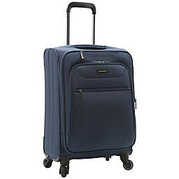 Latitude 40°N® Ascent 2.0 20-Inch Spinner Carry On Luggage in Navy