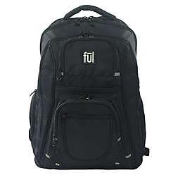 ful® Rockwood 19-Inch Laptop Backpack in Black