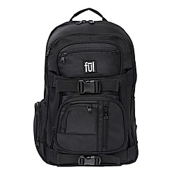 ful® Rush 18-Inch Laptop Backpack in Black