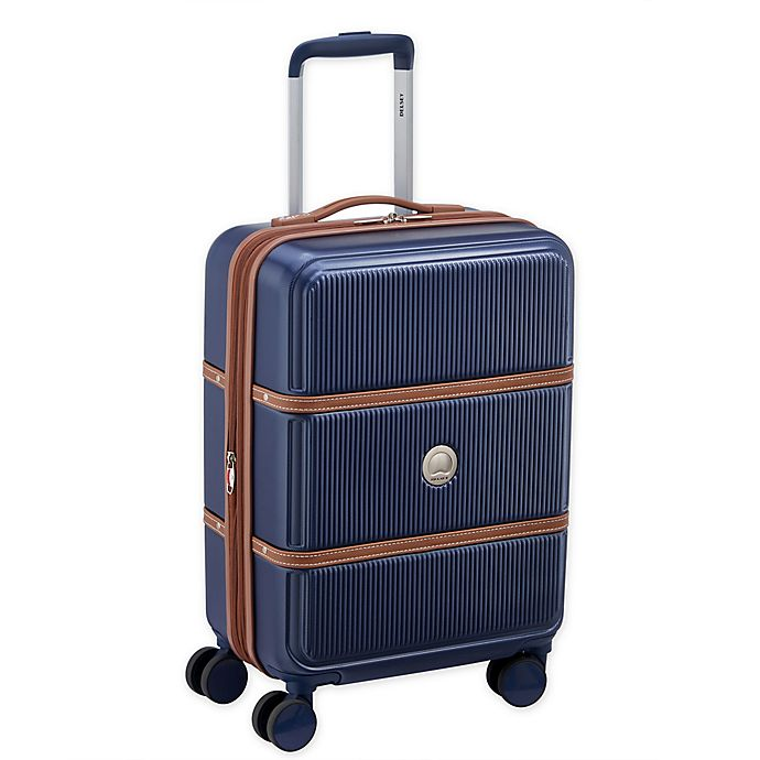 Alternate image 1 for DELSEY PARIS Rendez-Vous 19-Inch Hardside Spinner Carry On Luggage in Navy