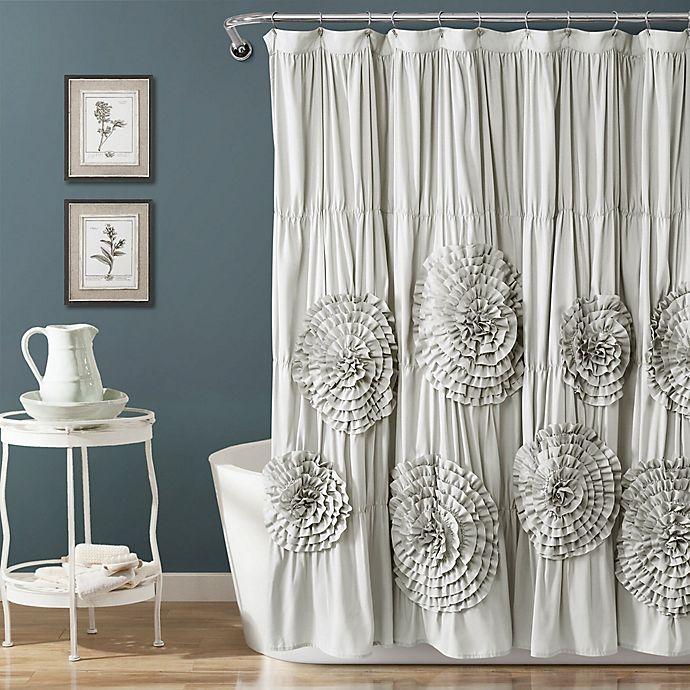 Lush Decor Serena Shower Curtain In