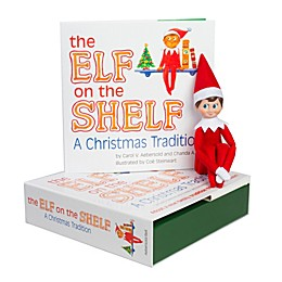 The Elf on the Shelf® A Christmas Tradition Book Set with Light Skin Tone Boy Elf