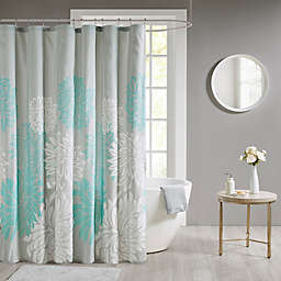 Madison Park Maible Floral Shower Curtain
