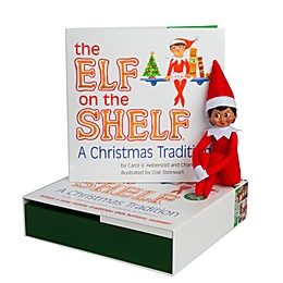 The Elf on the Shelf® A Christmas Tradition Book Set with Brown Skin Tone Girl Elf
