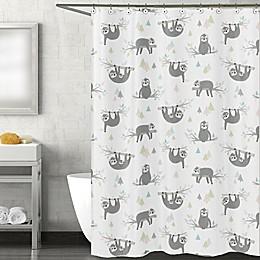 Sweet Jojo Designs Sloth Shower Curtain