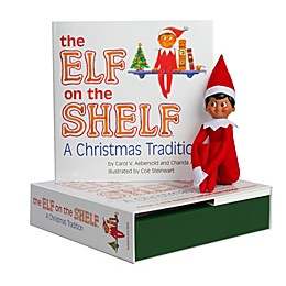 The Elf on the Shelf®: A Christmas Tradition Book Set with Brown Skin Tone Boy Elf