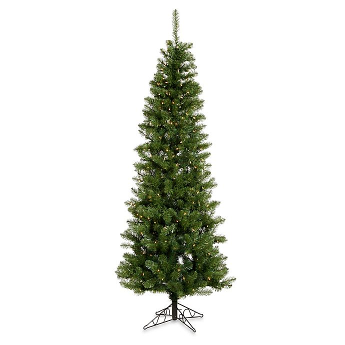 Where To Buy A Pre Lit Christmas Tree: Buy Vickerman 5.5-Foot Salem Pine Pre-Lit Pencil Christmas