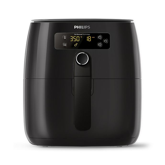 Alternate image 1 for Philips Digital Air Fryer with Fat Removal Technology in Black