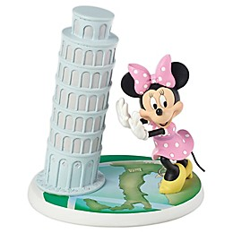 Precious Moments® Disney® Minnie Mouse Tower of Pisa Figurine