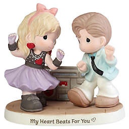 Precious Moments® Couple Listening to Music Porcelain Figurine