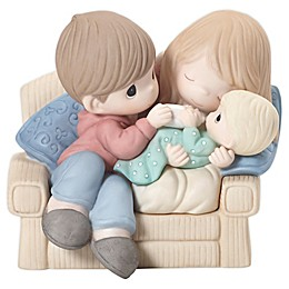 Precious Moments® A Baby Makes Love Stronger Porcelain Figurine