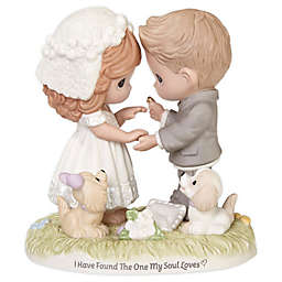 """Precious Moments® """"I Have Found the One My Soul Loves"""" Porcelain Figurine"""