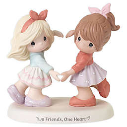 """Precious Moments® """"Two Friends, One Heart"""" Porcelain Figurine"""