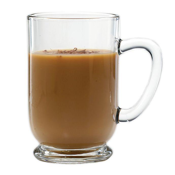 Alternate image 1 for Luminarc Bolero 16 oz. Glass Coffee Mug