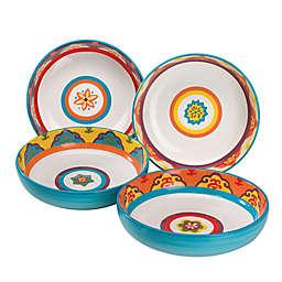 Euro Ceramic Galicia Pasta Bowls (Set of 4)