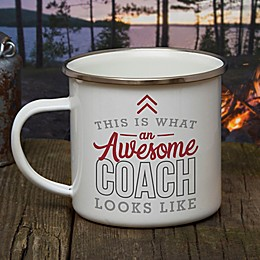 This Is What an Awesome Coach Looks Like Personalized Camping Mug