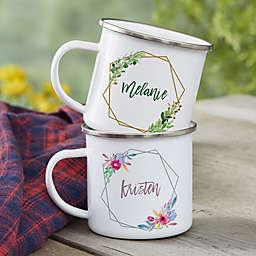 Geo Prism Personalized Camping Mug