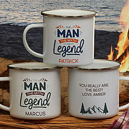 The Man, The Myth, The Legend Personalized Camping Mug