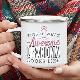 This Is What an Awesome Grandma Looks Like Personalized Camping Mug