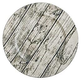 Saro Lifestyle Lignum Viate Charger Plates (Set of 4)
