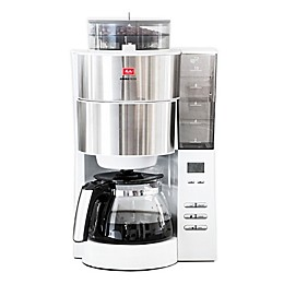 Melitta® Aroma Fresh Grind & Brew 10-Cup Coffee Maker in White