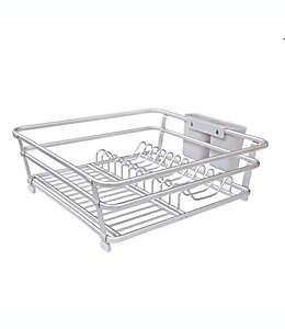 Escurridor de aluminio para platos ORG en gris