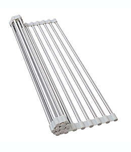 Escurridor de aluminio para fregadero .ORG  color  gris
