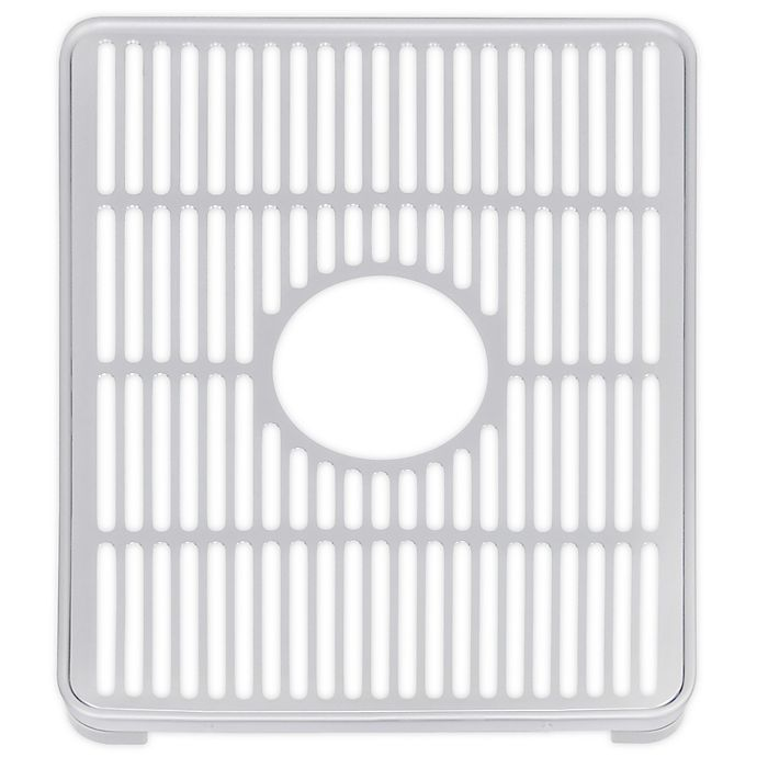 Alternate image 1 for ORG Aluminum Sink Protector in Grey