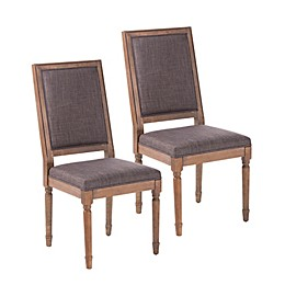 Southern Enterprises Earlston Upholstered Dining Chairs (Set of 2)