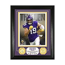NFL Minnesota Vikings Adam Thielen 13-Inch x 16-Inch Bronze Coin Photo Mint