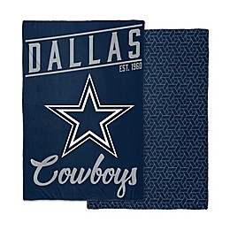 NFL Dallas Cowboys Reversible 6 lb.  Quilted Weighted Blanket