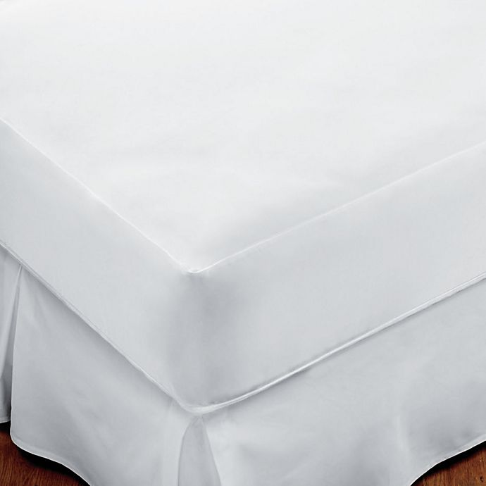 Sleep Safe Premium Mattress Protector In White Bed Bath Beyond