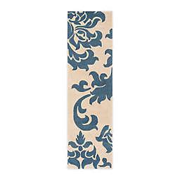 Martha Stewart by Safavieh 2'3 x 8' Barcelona Runner in Blue