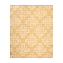 Martha Stewart by Safavieh 8' x 10' Knot Area Rug in Yellow