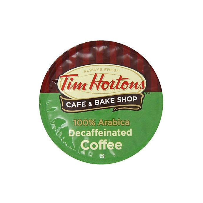 Alternate image 1 for 18-Count Tim Hortons™ Decaffeinated Coffee for Single Serve Coffee Makers