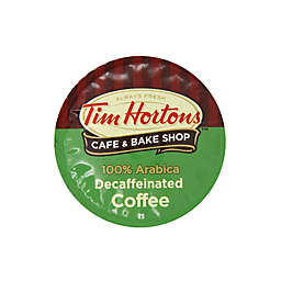 18-Count Tim Hortons™ Decaffeinated Coffee for Single Serve Coffee Makers